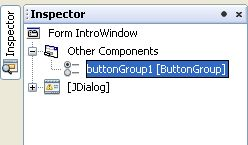 Remove radio button group